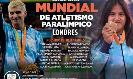 Atletismo: Argentina, lista para el Mundial de Londres