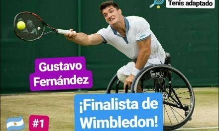 Tenis adaptado: ¡Gustavo Fernández, finalista de Wimbledon!