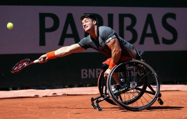 Tenis adaptado: Fernández y Casco avanzan en Bélgica