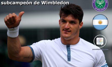 Tenis adaptado: Gustavo Fernández, subcampeón de Wimbledon