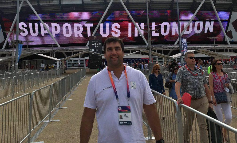 """Javier Álvarez: """"Estoy muy conforme con la actuación argentina en el Mundial de Londres"""""""