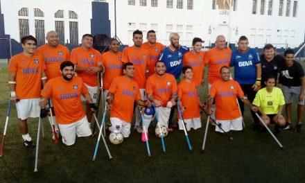 Fútbol de amputados: Los Teros picaron en punta en la Liga Nacional