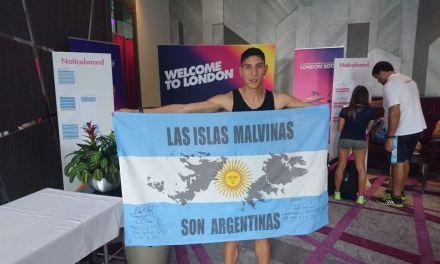 Mundial de para-atletismo: en el Día de la Independencia, la bandera argentina ya flamea en Londres