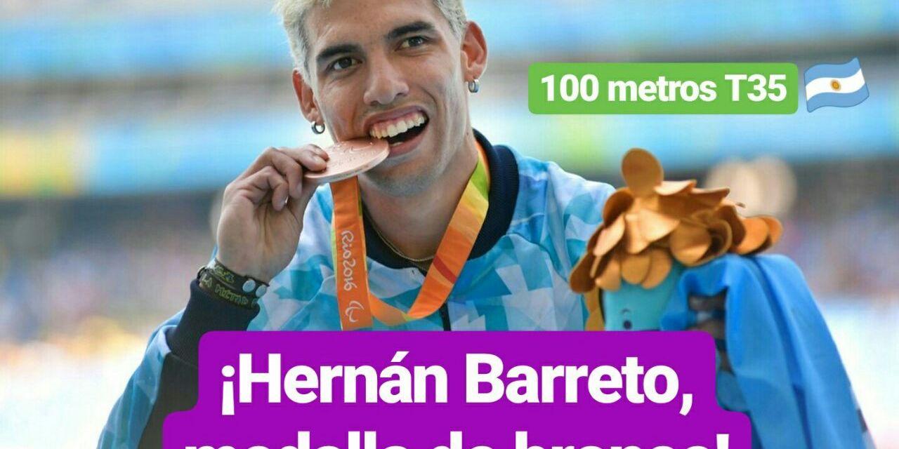 Mundial de Para-Atletismo: Hernán Barreto y otro bronce para hacer historia