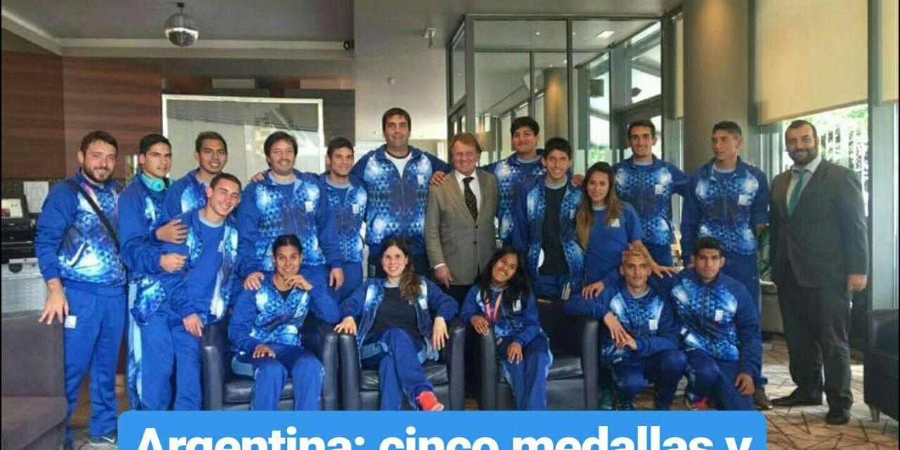 Mundial de para-atletismo: Argentina finalizó con 5 medallas y grandes actuaciones
