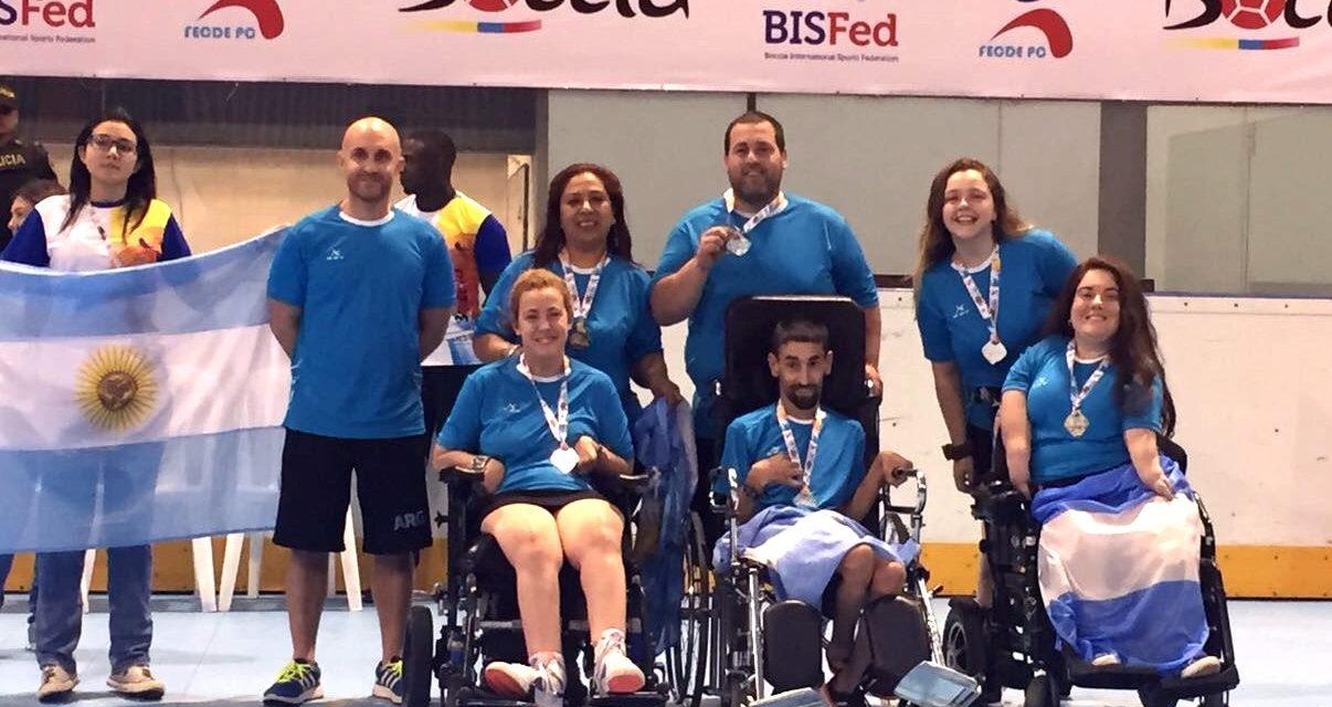 Boccia: así quedó el medallero de la Copa América Cali 2017