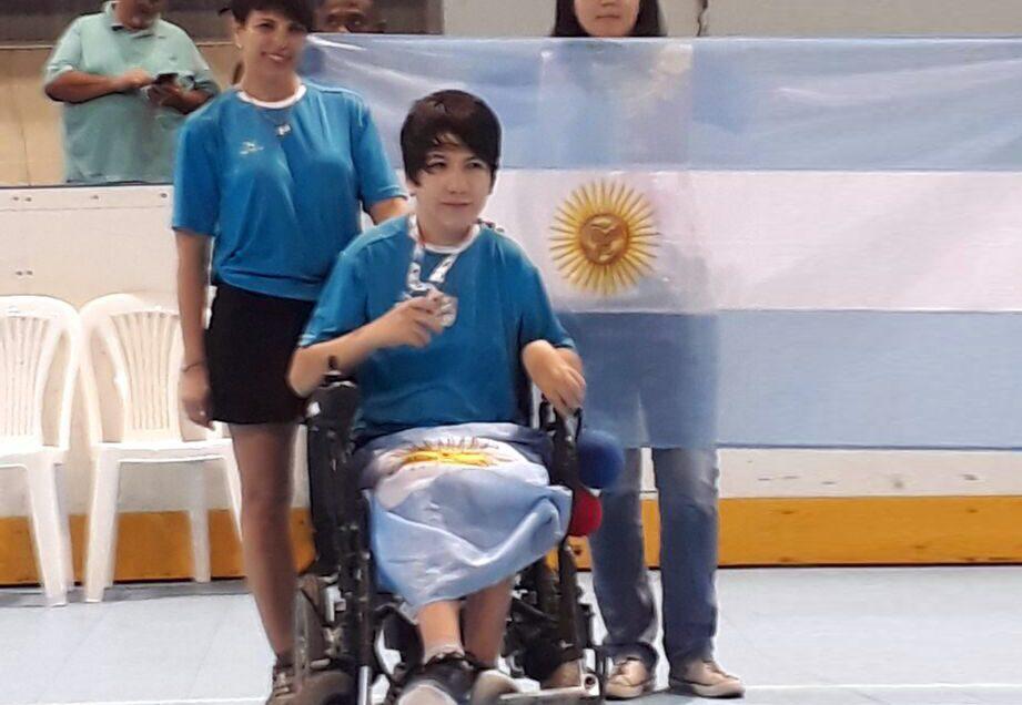 Boccia: Cristaldo, subcampeón en la Copa América Cali 2017