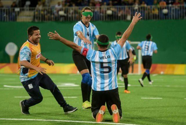 Fútbol para ciegos: Argentina pone primera en Colombia