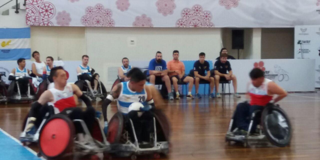 Quad rugby: Argentina se quedó con el quinto lugar en el Parapanamericano