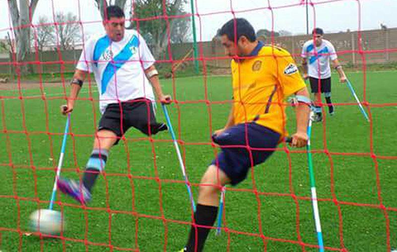Fútbol para amputados: la Selección dejó su sello en Rosario