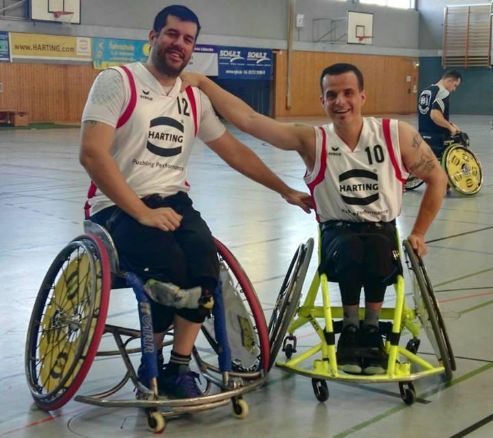 Básquet sobre silla de ruedas: buen comienzo de Adrián Pérez en España
