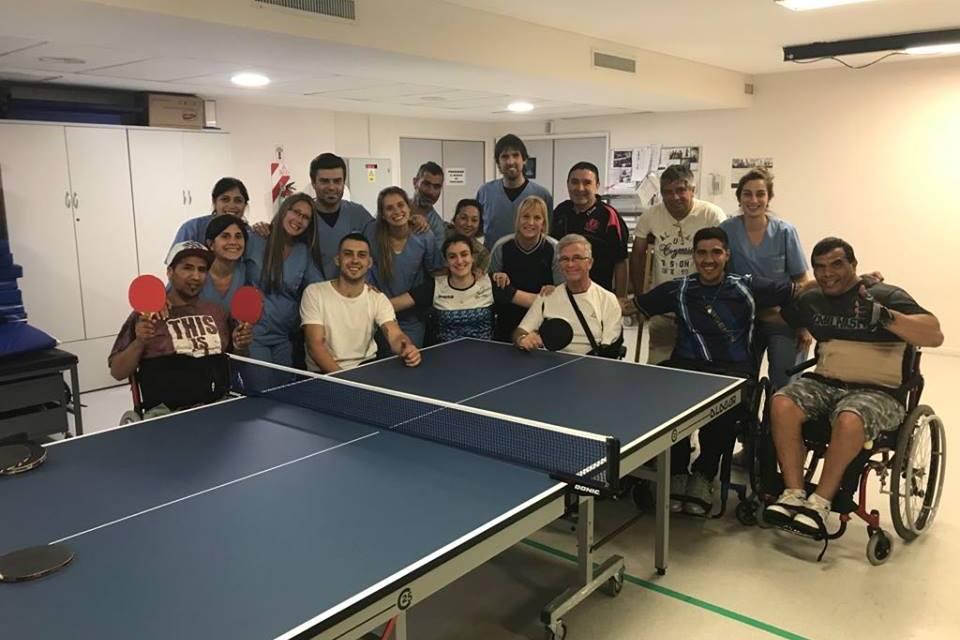 Tenis de mesa adaptado: nueva actividad inclusiva de la Selección