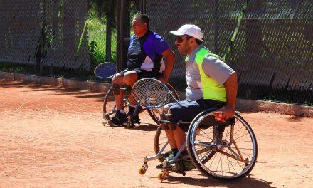 Tenis adaptado: Camusso-Díaz y Moreno-Medrano, campeones del dobles en el Cañuelas Open