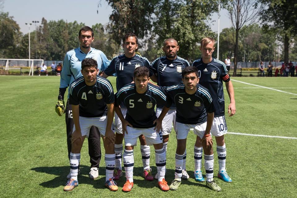Fútbol 7: con tres caras nuevas, la Selección Argentina se concentra en La Plata