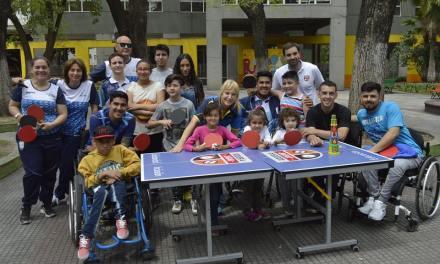 Tenis de mesa adaptado: jornada inclusiva en Constitución