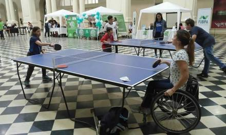 Tenis de mesa adaptado: mucha actividad en La Plata