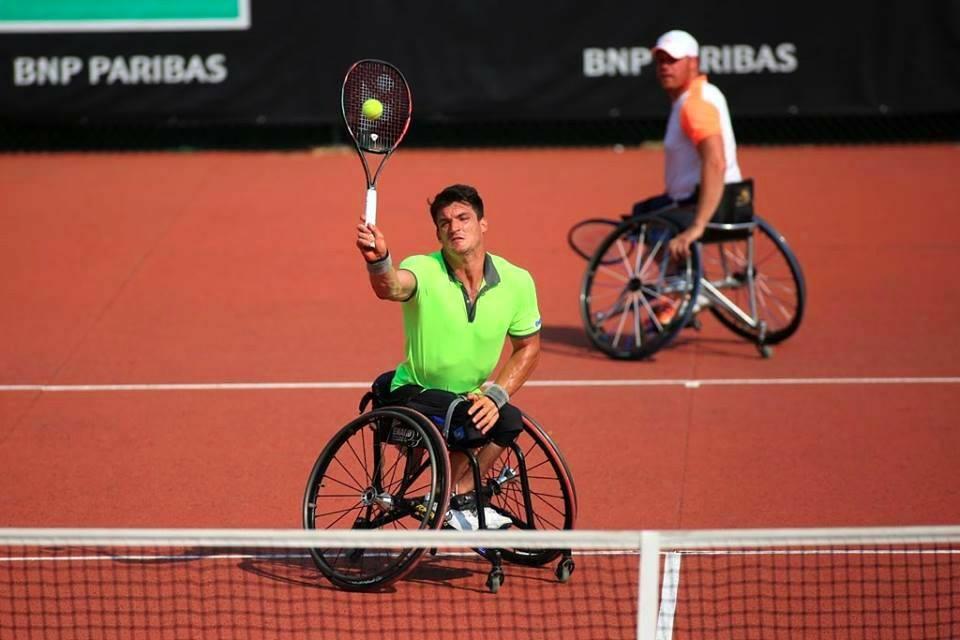 Tenis adaptado: Gustavo Fernández, semifinalista del Masters de dobles