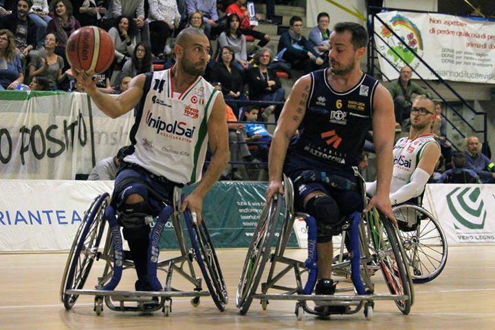 Básquet en silla de ruedas: festejos argentinos en el comienzo de la liga de Italia