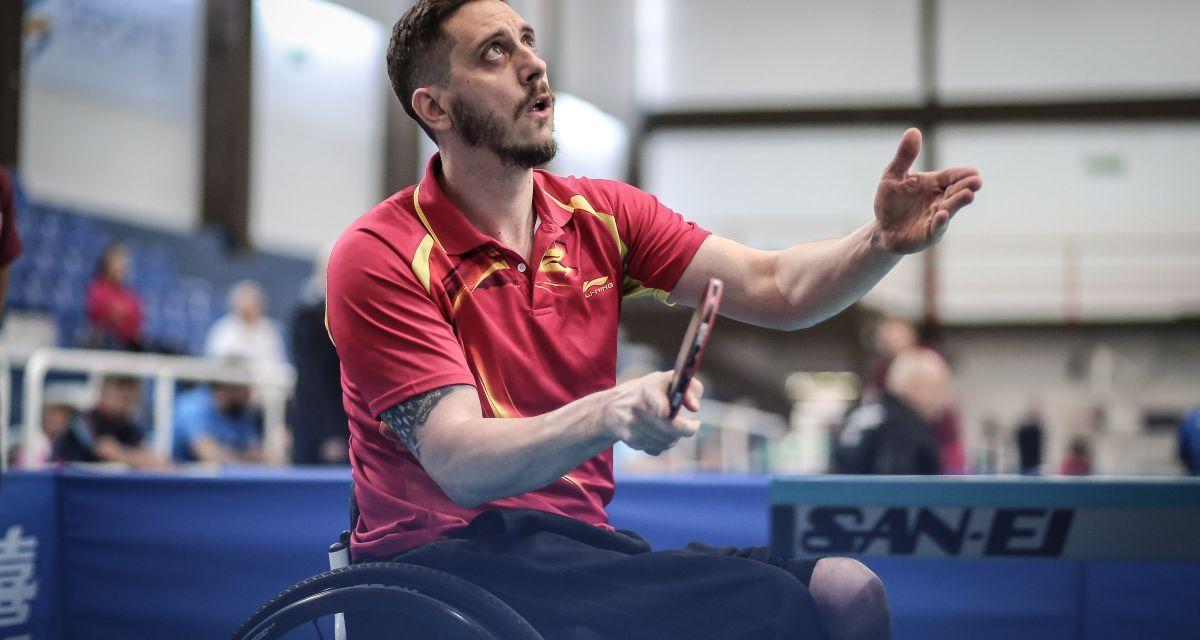 Tenis de mesa adaptado: once medallas argentinas en la Copa Tango