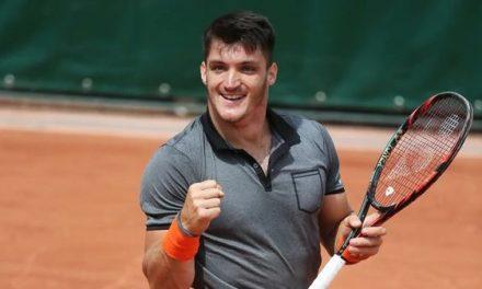 Tenis adaptado: sólido debut de Gustavo Fernández en Bath