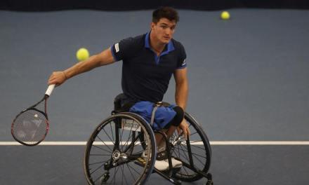 Tenis adaptado: buen arranque para Gustavo Fernández en el Masters de dobles