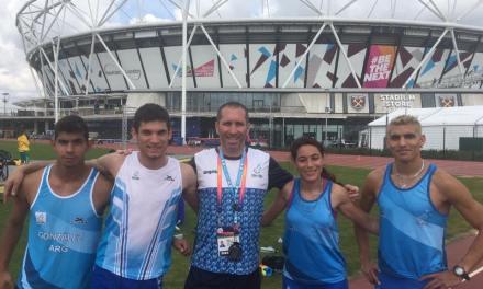 Atletismo: Argentina se prepara para un año a pura competencia