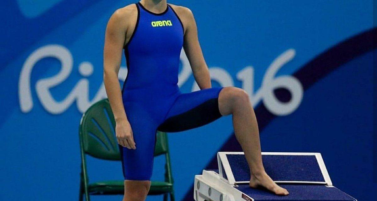 Natación: Daniela Giménez se subió a lo más alto del podio en el Mundial de México