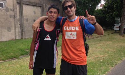 Atletismo: Cretton Salas, récord en los 100 metros