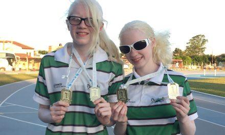 Juegos Nacionales Evita: las hermanas Aguirre, orgullo del Chaco