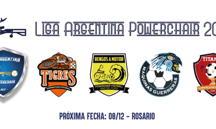 Powerchair Football: se define la Liga Nacional