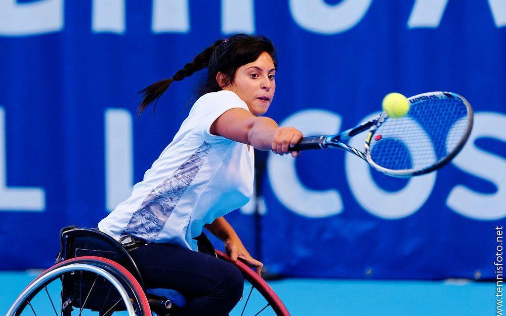 Tenis adaptado: Antonella Pralong jugará el Masters de Juniors