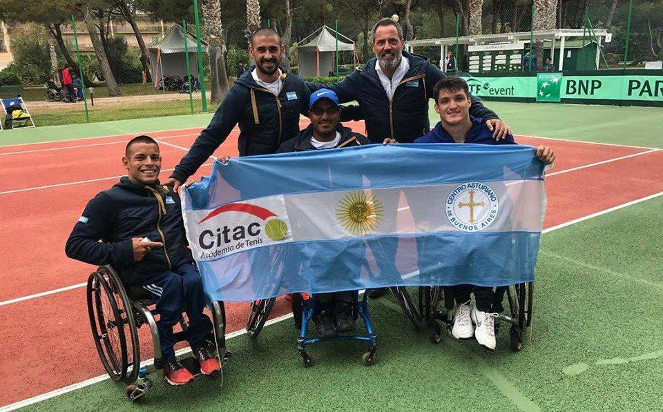 Tenis adaptado: los argentinos crecen en el ranking mundial