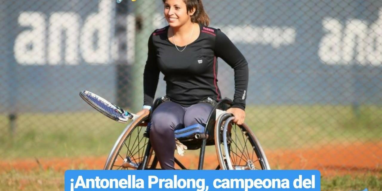 Tenis adaptado: ¡Antonella Pralong, campeona del Masters de Juniors!