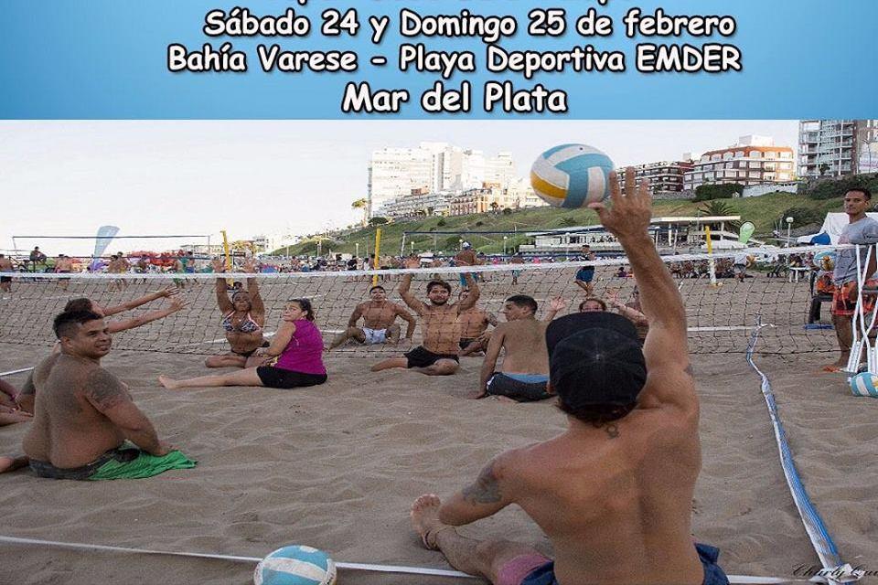 El Sitting Volley se traslada a Mar del Plata