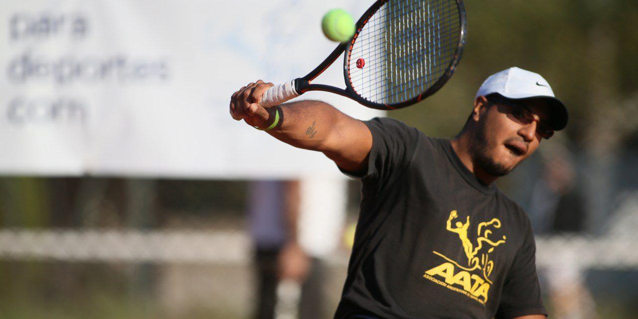 Tenis adaptado: Ledesma, subcampeón en Inglaterra