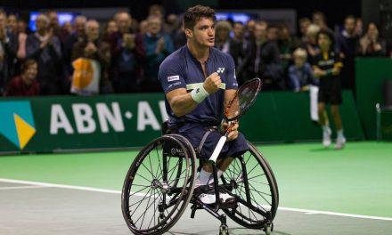 Tenis adaptado: ¡Gustavo Fernández, finalista en Rotterdam!