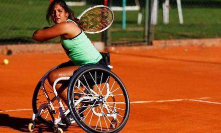 Tenis adaptado: buen arranque para Moreno en Bolton