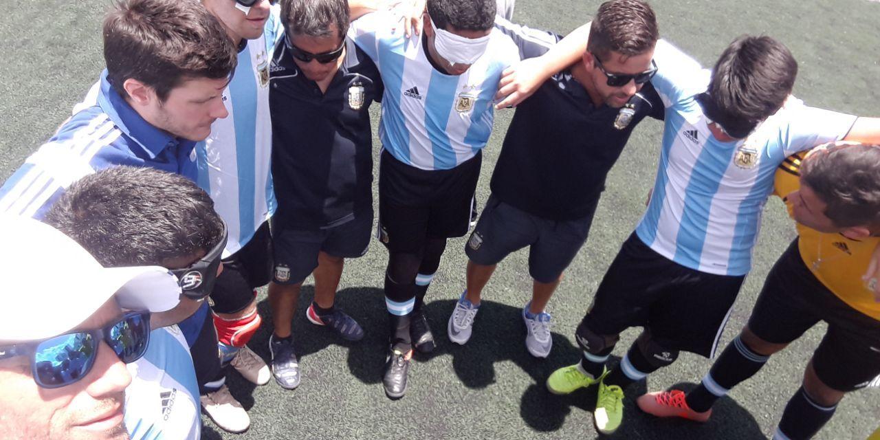 Fútbol para ciegos: la Selección Juvenil goléo y llegó a la final en Brasil