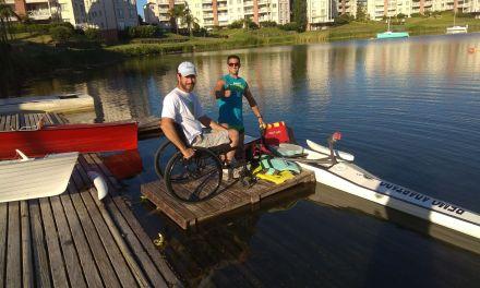 Remo paralímpico: la Selección suma rodaje para el Sudamericano