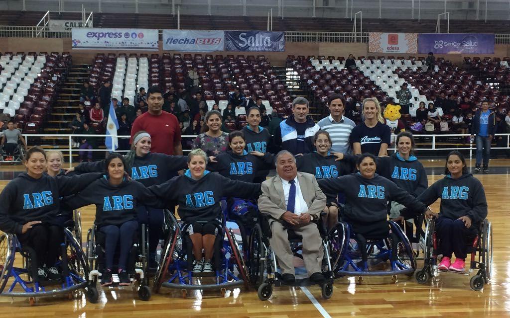 Básquet femenino: la Selección Argentina se presentó en Salta