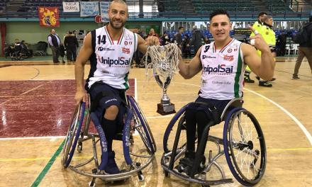 Básquet adaptado: el Briantea84 de Berdún y Esteche se quedó con la Copa Italia