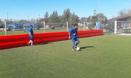 Fútbol para ciegos: Paradeportes Cañuelas se prepara para el octogonal