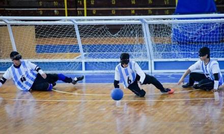 Goalball: la Selección Argentina se prueba en Brasil