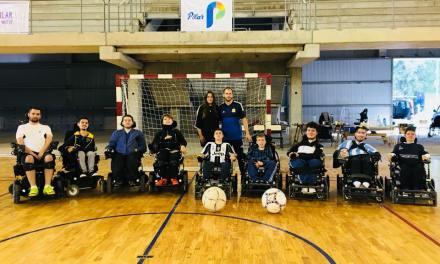 Powerchair football: la Selección Argentina tuvo la primera concentración del año