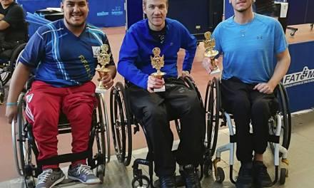 Tenis de mesa adaptado: Elías Romero, ganador de la segunda fecha del Torneo Nacional