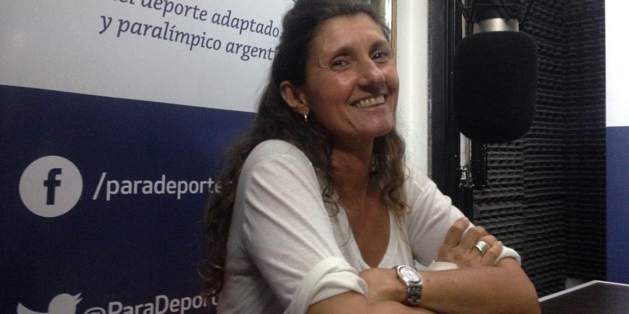 """Laura Cometto en Paradeportes Radio: """"Estamos trabajando para que el paravóley argentino esté en Lima 2019"""""""
