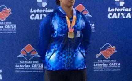 Atletismo: Mariela Almada se subió a lo más alto del podio en el Open Caixa