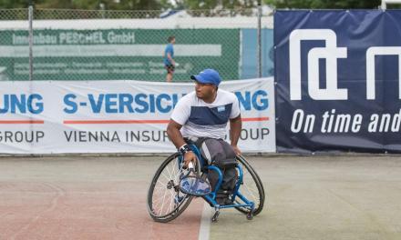 Tenis adaptado: Agustín Ledesma, doble campeón en Rusia