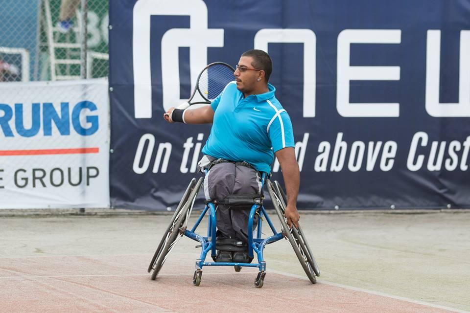 Tenis adaptado: Ledesma, semifinalista en Israel