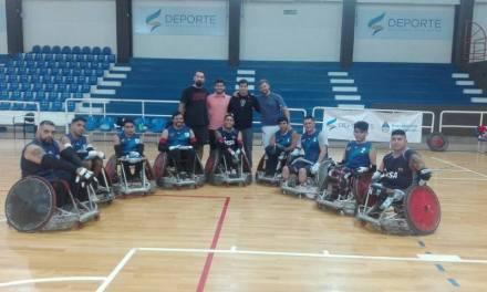 Quad rugby: la Selección Argentina puso primera